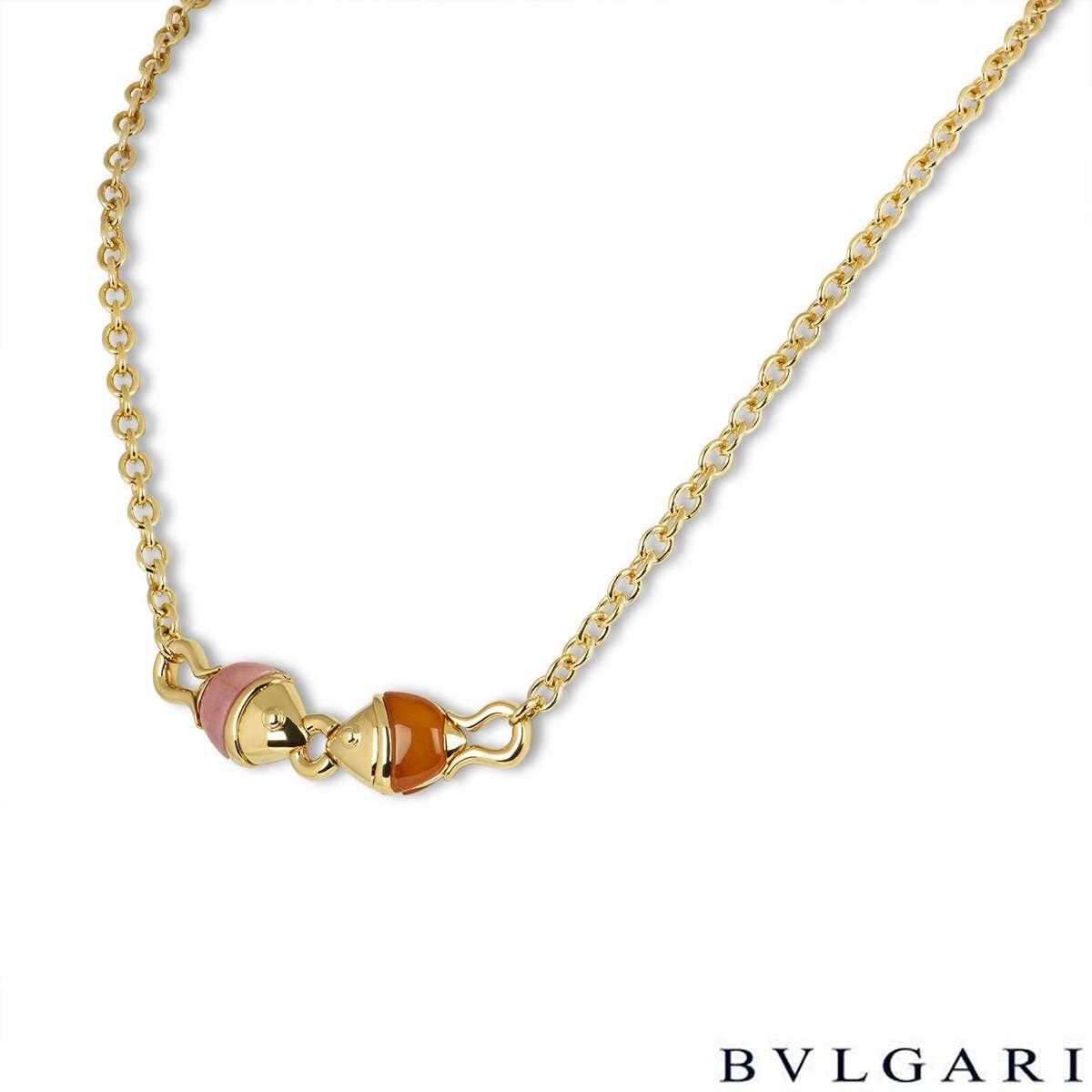 Bvlgari Yellow Gold Naturalia Necklace